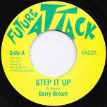 Step It Up / Step It Up Dub - Barry Brown / Jonah Dan